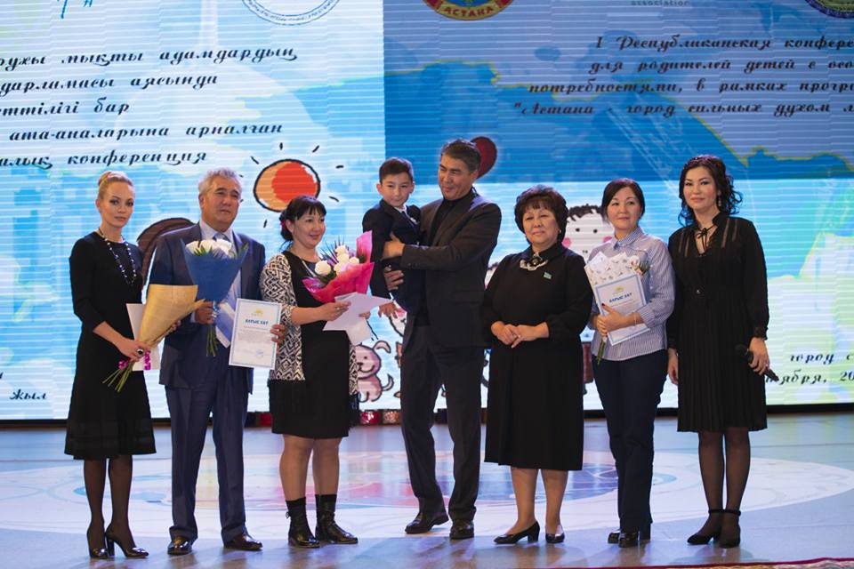 Astana parents confernce 14 oct 2017 Leila group
